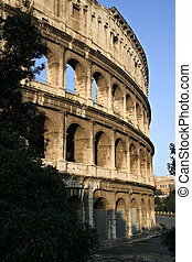 The Colosseum 2 - Il Colosseo also known as Flavian...