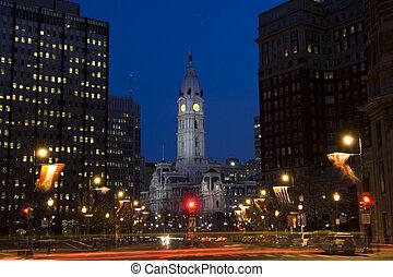 cidade, Filadélfia,  ce