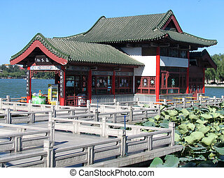 Chinese Pagoda as store