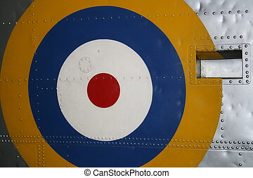 RAF WW2 Roundel - Royal Air Force. World War 2 Insignia
