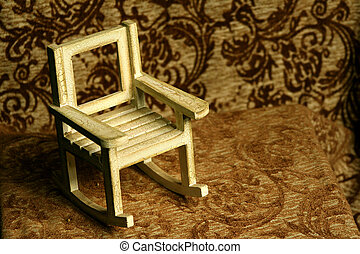 Rocking Chair - Abstract of miniature rocking chair