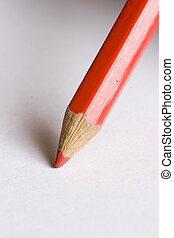 correction pencil sit ready to mark error