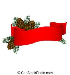 Christmas Banner 1 - Hight detailed illustration.