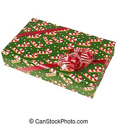 Christmas Box 09 - High detailed illustration.