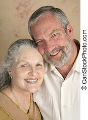Happy Mature Couple - A happy, good-looking mature couple.