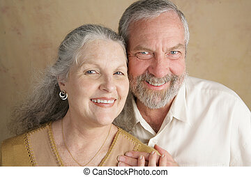 Happily Married - Portrait of a happily married, attractive...