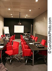 Corporative Meeting - after business meeting in corporative...