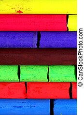 Chalk - Multicolored artists pastels