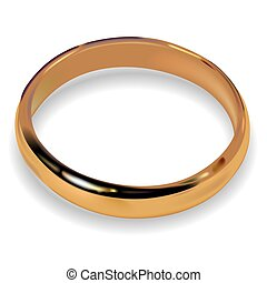 Wedding Ring 01 - High detailed illustration