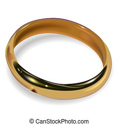 Wedding Ring 02 - High detailed illustration