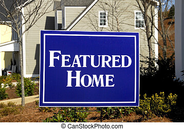 Featured Home - Real-Estate Featured Home Sign