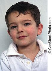 Cute Boy - a cute 5 year old boy