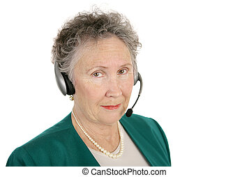 Serious Phone Operator - A serious senior phone bank...