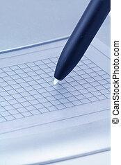 Computer graphics tablet