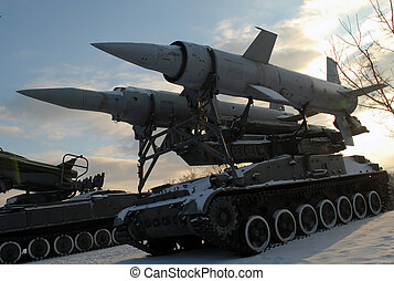 Krug 2K11 - Self-propelled antiaircraft rocket complex...