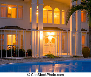 Luxury house - A magnificent double storey home with pool...