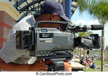 noticias, cámara