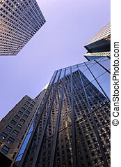 Manhattan offices - Office buildings on 42nd street in...