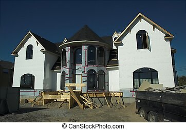 Dream Home Construct - Construction of large executive home...
