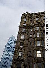 Old and new architec - Historical building in Philadelphia...