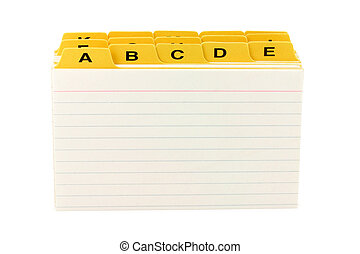 yellow file divider - file divider, office supplies, close...
