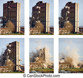 Tower collapse - The destruction of a tower