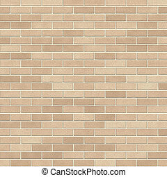 Brick wall 3 - illustration of a brick wall