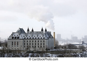 Gothic Spew View - Pollution in downtown Ottawa, Canada