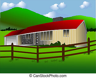 The Ranch House - Typical modern ranch house...