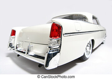1956 classic US car - Picture of a 1956 classic US toy car ....