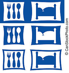 hotel restaurant symbols - hotel motel restaurant symbols