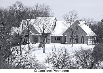Beautiful Winter Home in a Secluded Country Setting -...