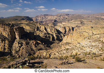 Fish Creek Canyon in Tonto National Forest, Arizona in...