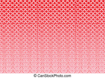 Heart background for valentine subject