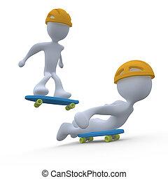 skateboarding #1