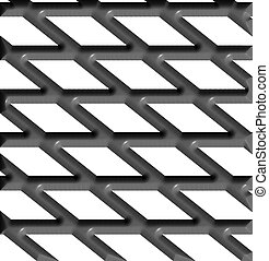 steel plate - expanded steel plate nice seemless background...