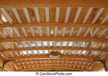 Fine Lines - Roof inside a Woody
