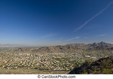 Scottsdale, Arizona - City of Scottsdale in Arizona as seen...