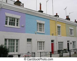 South Kensington - Houses in South Kensington, London.