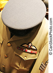 Royal Canadian Air Force uniform - Close-up of a Royal...