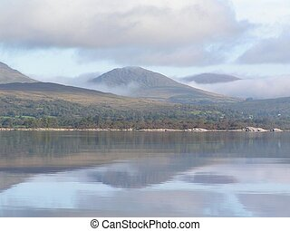 lake and hills. - Lakes, mountains, and hills of Ireland....
