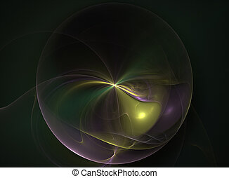 Electric Planet - fractal rendering resembling an electric...