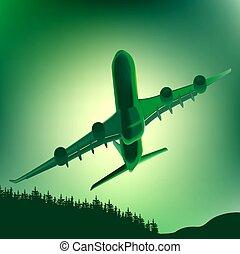 Aeroplane Green