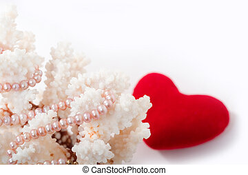 pearls and corals