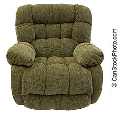 Rocker Recliner - Big and Plush Rocker Recliner in Sage...
