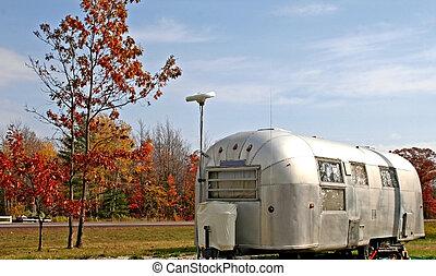 caravane, vieux