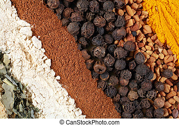 Abstract spices