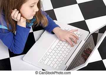 computadora, trabajo