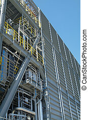 Detail of oil drilling module - Detail of module at North...