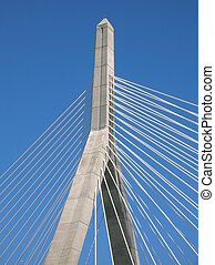 Zakim - The Leonard P. Zakim Bunker Hill Bridge, Boston.